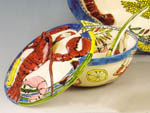 Seafood Buffet Covered Tureen with Ladle