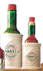 Tabasco® Ceramic Bottle Holder