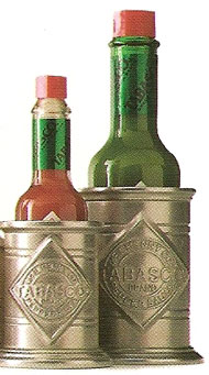 Tabasco® Pewter Bottle Holder