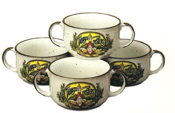 Tabasco 2 Handle Gumbo Bowls
