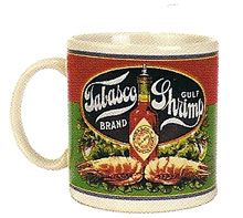 TABASCO® Shrimp Label Coffee Mug
