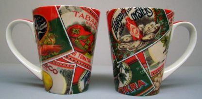 TABASCO® Antique Labels Mug