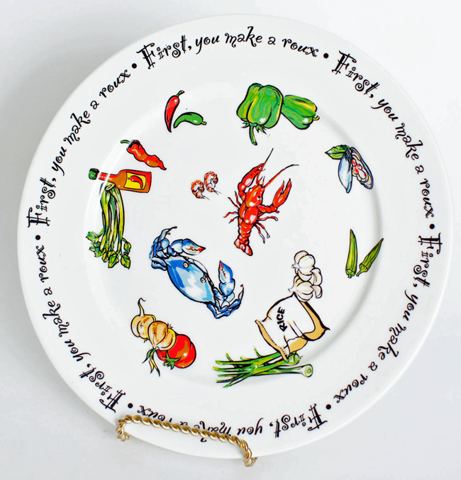 First You Make A Roux Ceramics