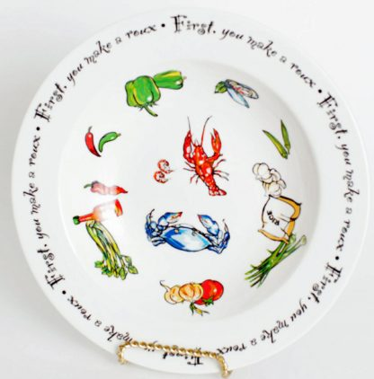 """""""Roux Collection"""" 10.5inch Gumbo Bowl"""