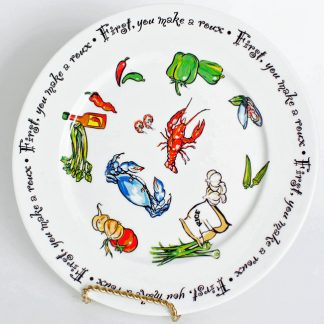 """""""Roux Collection"""" 10.5 inch Dinner Plate"""