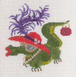 Jude Designs Handpainted Needlepoint Canvases