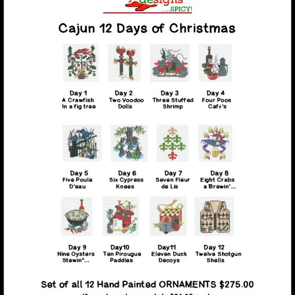 Cajun 12 Days Of Christmas